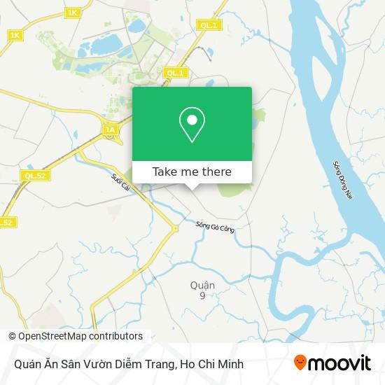Quán Ăn Sân Vườn Diễm Trang map