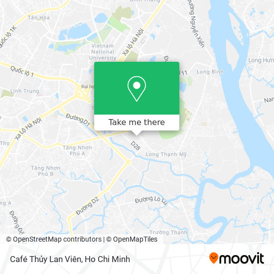 Café Thủy Lan Viên map