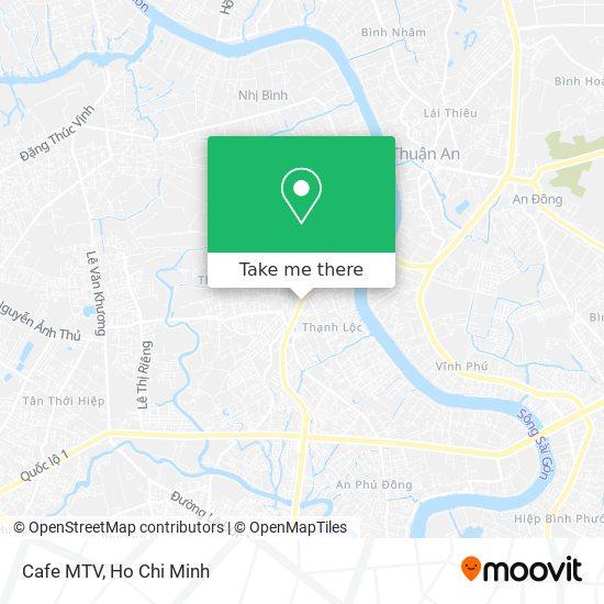 Cafe MTV地圖