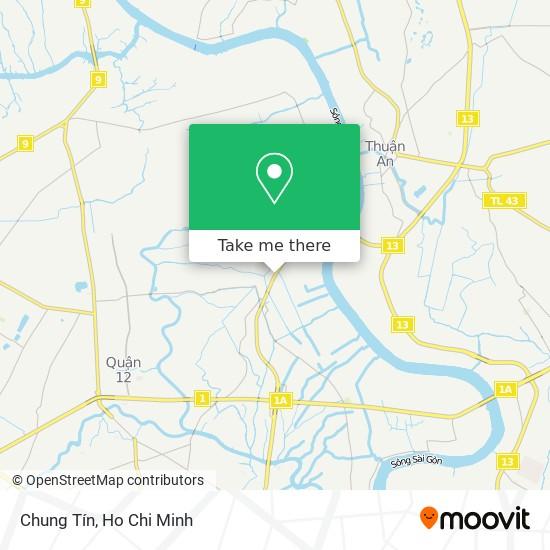 Chung Tín地圖