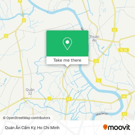 Quán Ăn Cẩm Ký map