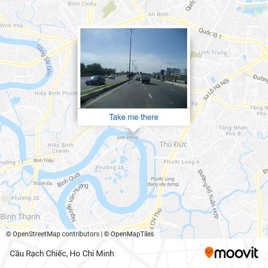 Cầu Rạch Chiếc地圖