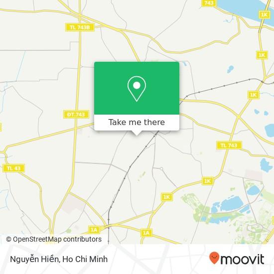 Nguyễn Hiền map