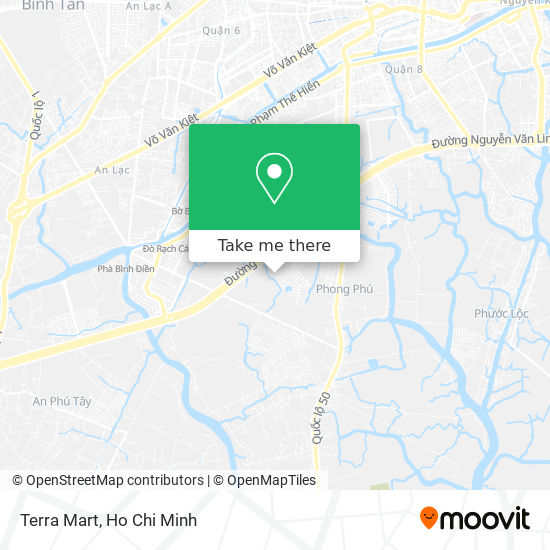 Terra Mart地圖
