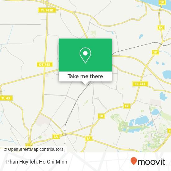 Phan Huy Ích地圖