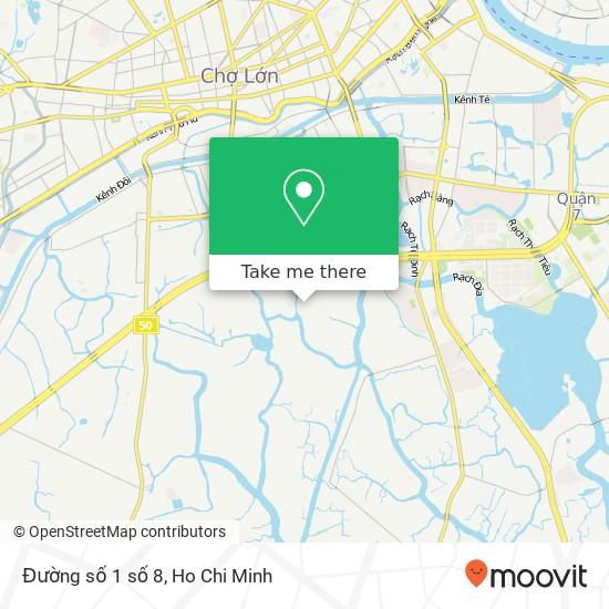 Đường số 1 số 8地圖