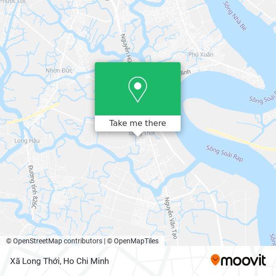 Xã Long Thới map