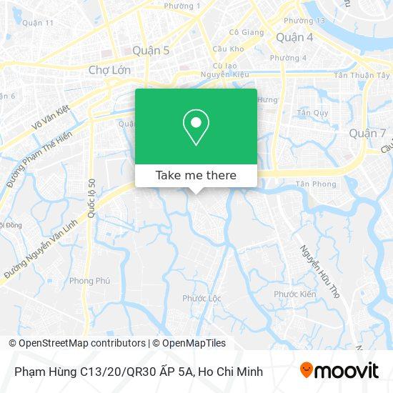 Phạm Hùng C13/20/QR30 ẤP 5A地圖