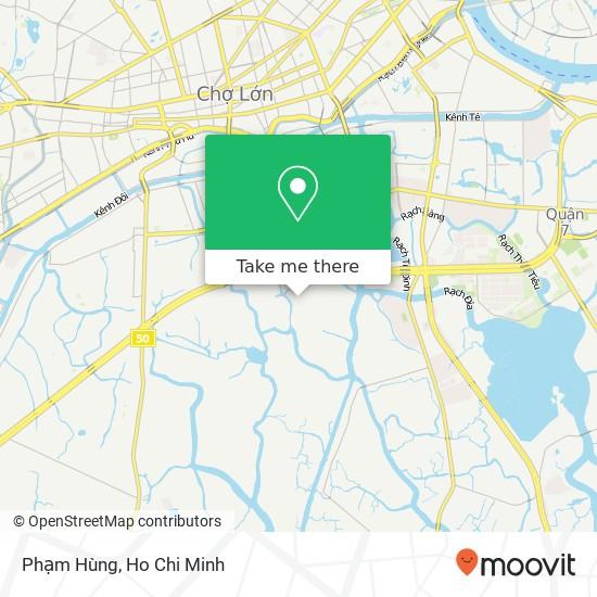 Phạm Hùng地圖