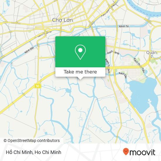 Hồ Chí Minh地圖