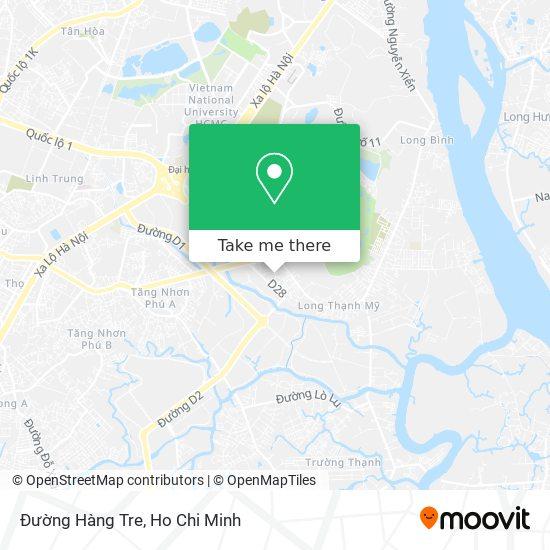 Đường Hàng Tre map