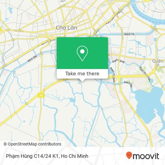 Phạm Hùng C14/24 K1地圖