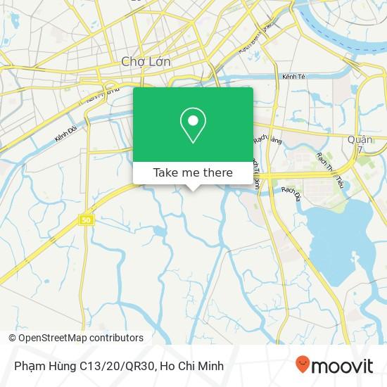 Phạm Hùng C13/20/QR30地圖