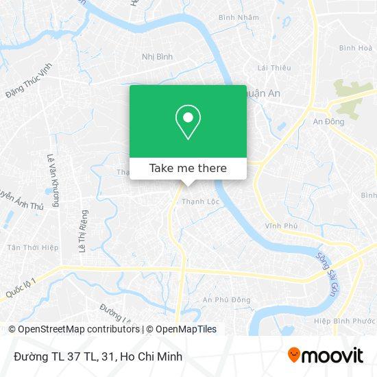 Đường TL 37 TL, 31地圖
