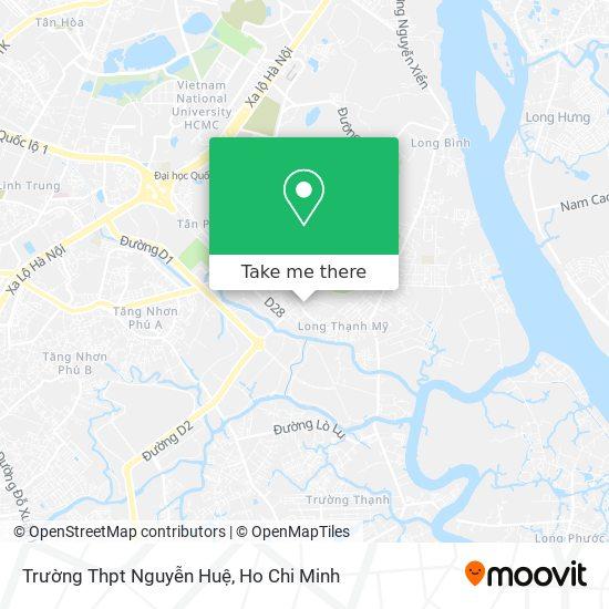 Trường Thpt Nguyễn Huệ map