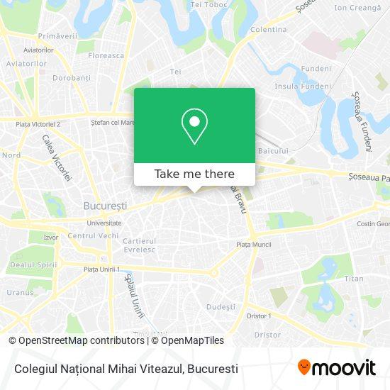 Colegiul Național Mihai Viteazul map