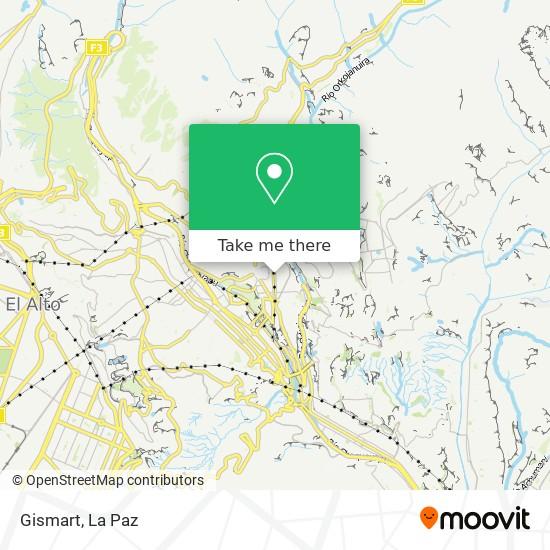 Gismart map