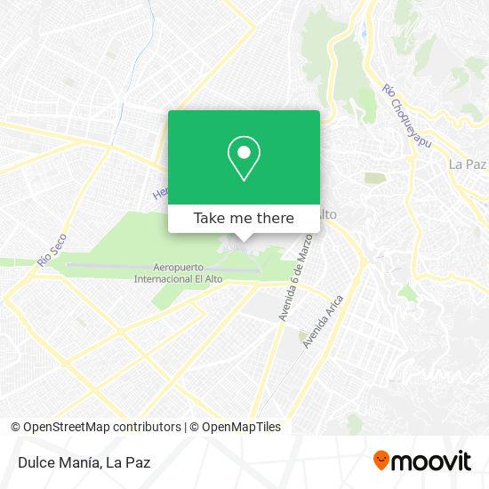 Dulce Manía map