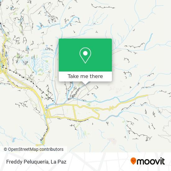 Freddy Peluquería map