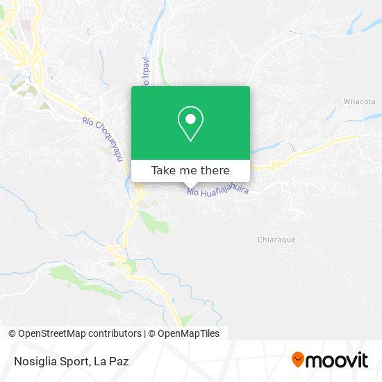 Nosiglia Sport map