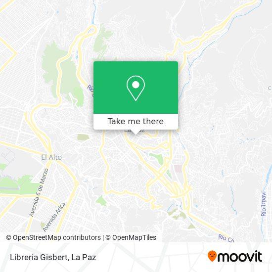 Libreria Gisbert map