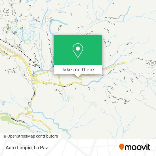 Auto Limpio map