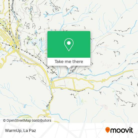 WarmUp map