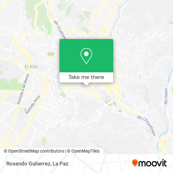 Rosendo Gutierrez map