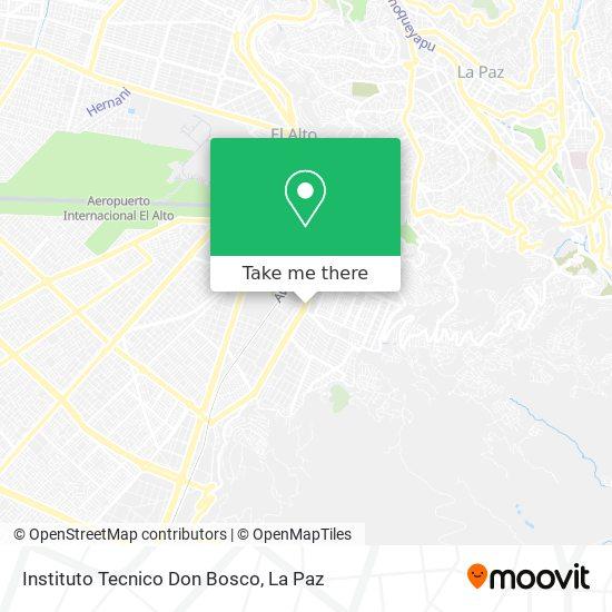 Instituto Tecnico Don Bosco map