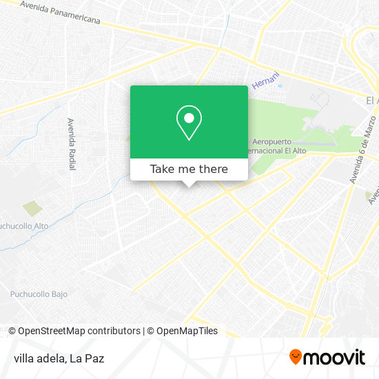 villa adela map