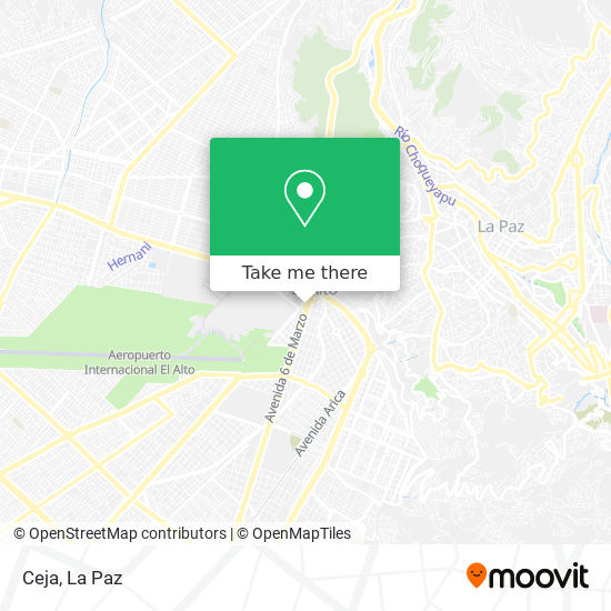 Ceja map