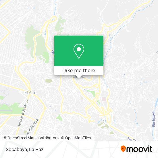 Socabaya map