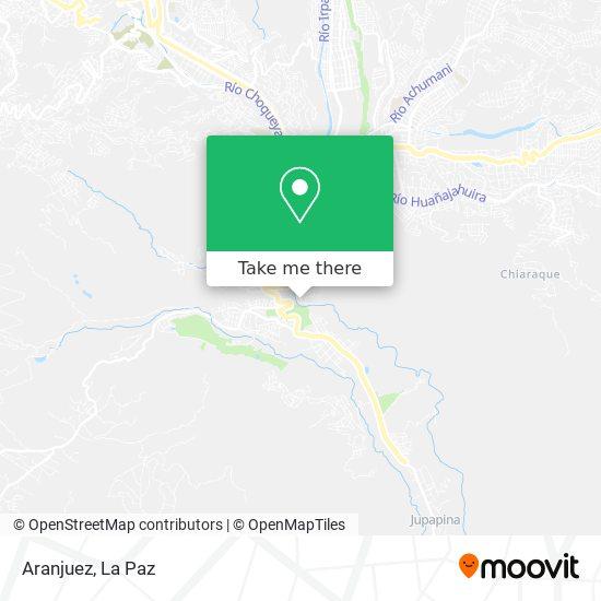 Aranjuez map