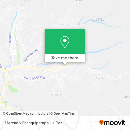 Mercado Chasquipampa map