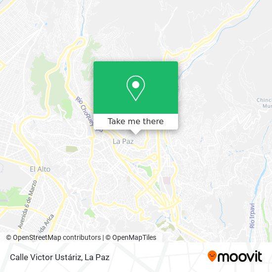 Calle Victor Ustáriz map