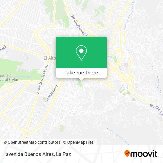 avenida Buenos Aires map
