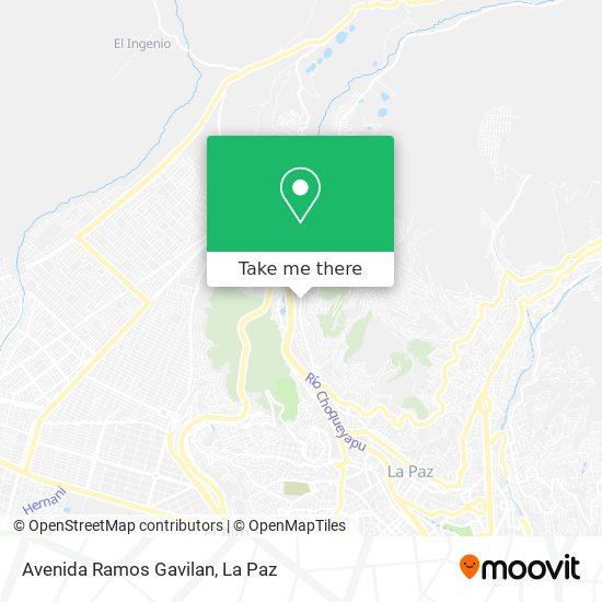 Avenida Ramos Gavilan map