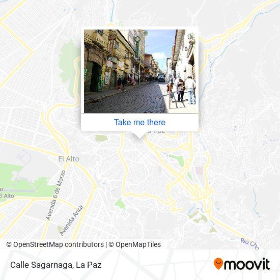 Calle Sagarnaga map