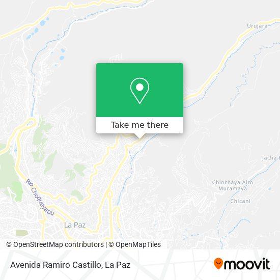 Avenida Ramiro Castillo map