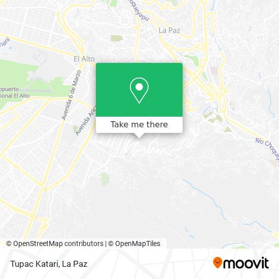 Tupac Katari map