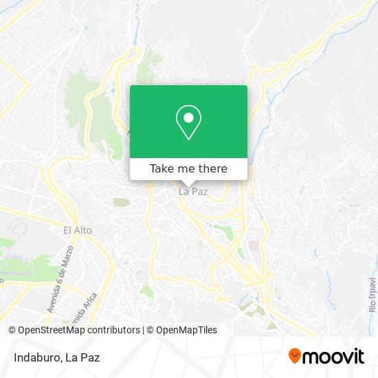 Indaburo map