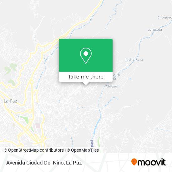 Avenida Ciudad Del Niño map