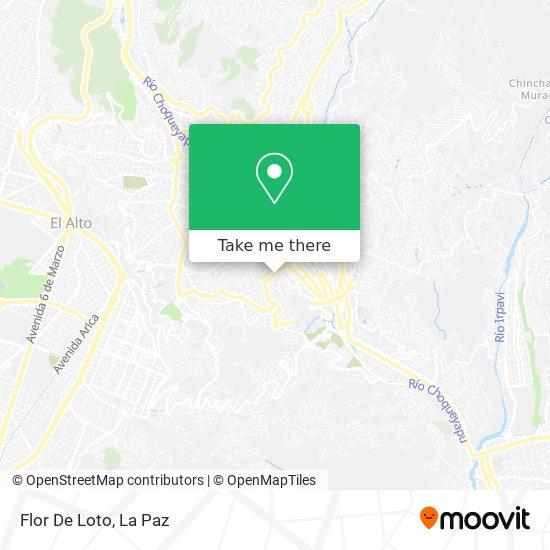 Flor De Loto map