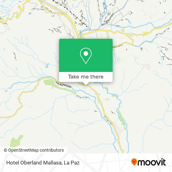 Hotel Oberland Mallasa map