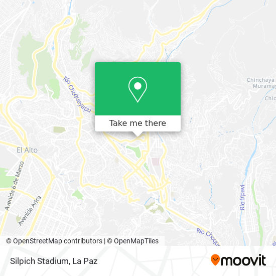 Silpich Stadium map