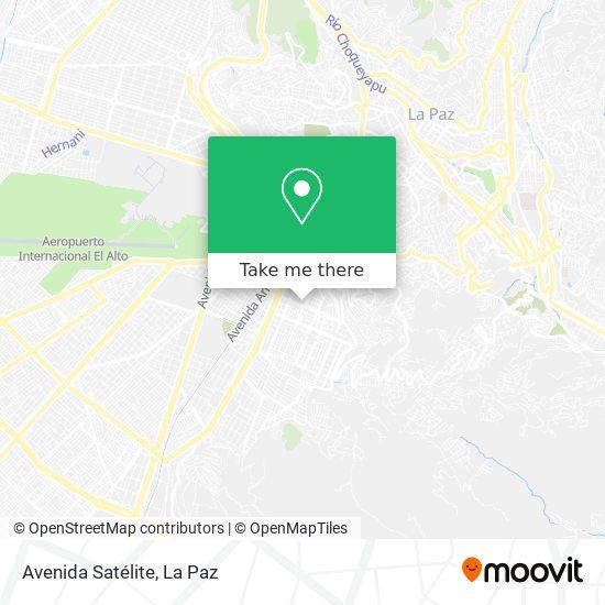 Avenida Satélite map
