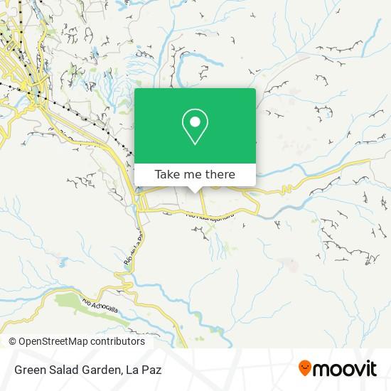 Green Salad Garden map
