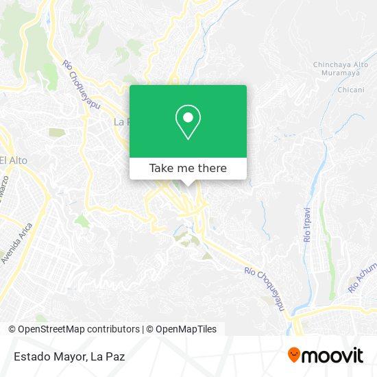 Estado Mayor map
