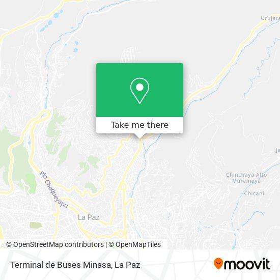 Terminal de Buses Minasa map
