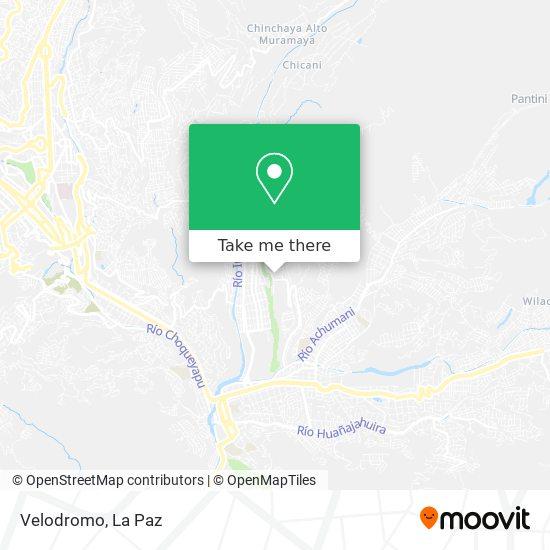 Velodromo map